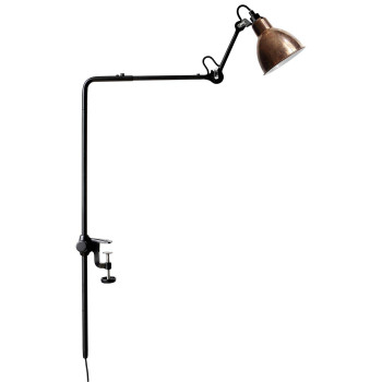 DCW Lampe Gras No 226, Schirm Kupfer roh (innen weiß)