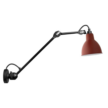 DCW Lampe Gras No 304 L40, Schirm rot