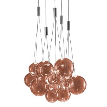 Studio Italia Design Random Cluster 15, rotgold