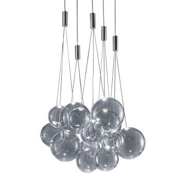 Studio Italia Design Random Cluster 15, verchromt