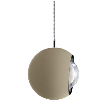 Lodes Spider LED, champagner matt