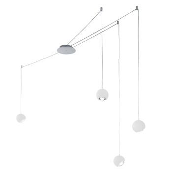 Studio Italia Design Spider 4, weiß matt