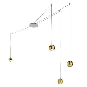 Studio Italia Design Spider 4, gold