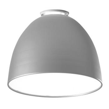 Artemide Nur Mini Soffitto LED, aluminiumgrau
