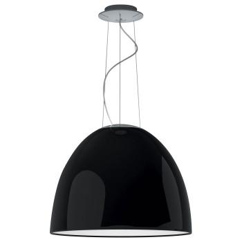 Artemide Nur Gloss LED, schwarz glänzend, kompatibel mit Artemide App