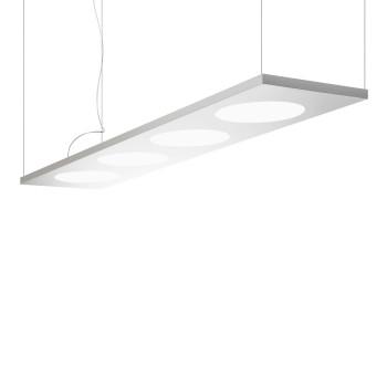 Foscarini Dolmen Sospensione LED, Aluminium, mit Kabelsonderlänge max. 10 m