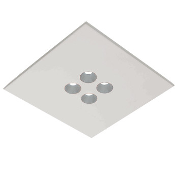 Icone Confort 4Q, blanc, aluminium