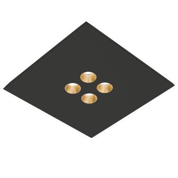 Icone Confort 4Q, noir, feuille d´or