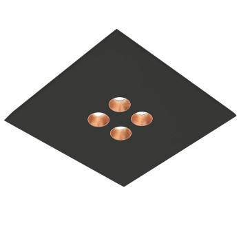 Icone Confort 4Q, noir, feuille de cuivre