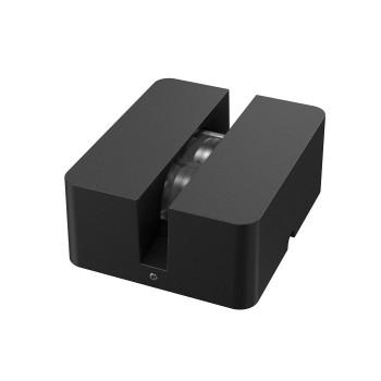 Flos Fenestra LED, schwarz, 2700K