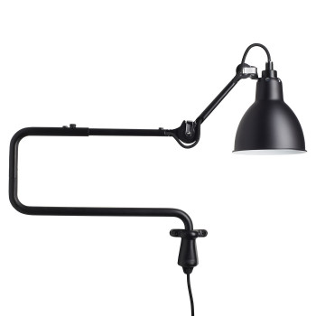 DCW Lampe Gras No 303, Schirm schwarz