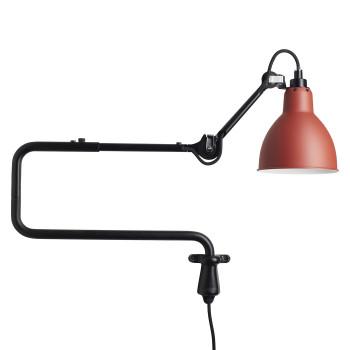 DCW Lampe Gras No 303, Schirm rot