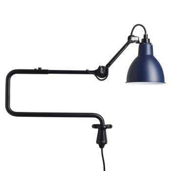 DCW Lampe Gras No 303, Schirm blau