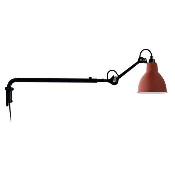 DCW Lampe Gras No 203, Schirm rot