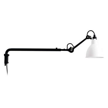 DCW Lampe Gras No 203, Schirm weiß