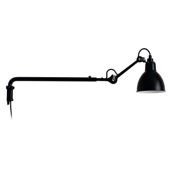 DCW Lampe Gras No 203, Schirm schwarz