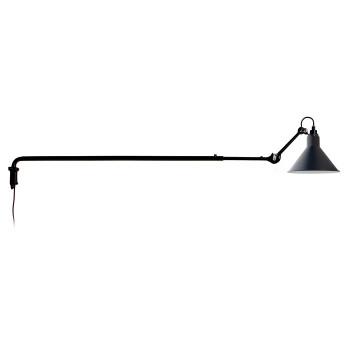 DCW Lampe Gras No 213, Schirm blau