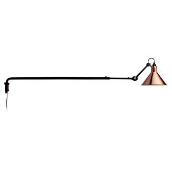 DCW Lampe Gras No 213, Schirm Kupfer