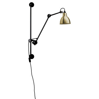 DCW Lampe Gras No 210, Schirm Messing