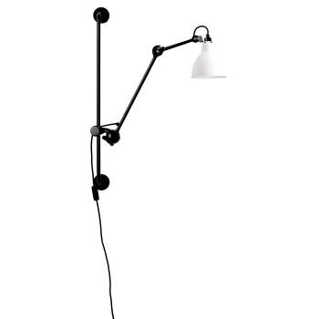 DCW Lampe Gras No 210, Schirm weiß