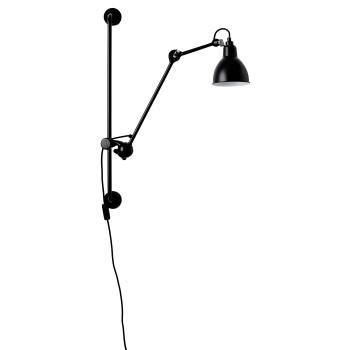 DCW Lampe Gras No 210, Schirm schwarz