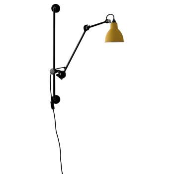 DCW Lampe Gras No 210, Schirm gelb