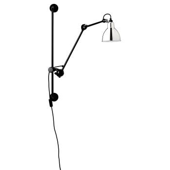 DCW Lampe Gras No 210, Schirm Chrom
