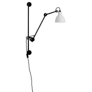 DCW Lampe Gras No 210, Schirm Glas matt