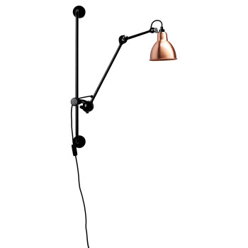 DCW Lampe Gras No 210, Schirm Kupfer