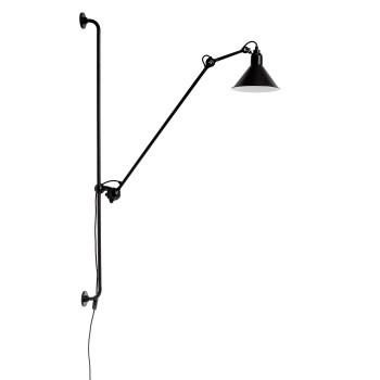 DCW Lampe Gras No 214, Schirm schwarz