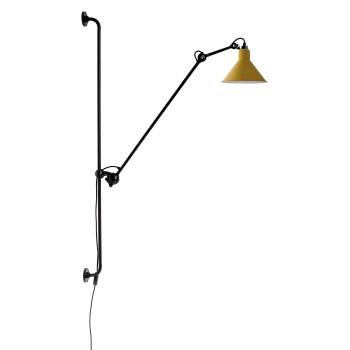 DCW Lampe Gras No 214, Schirm gelb