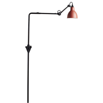 DCW Lampe Gras No 216, Schirm rot
