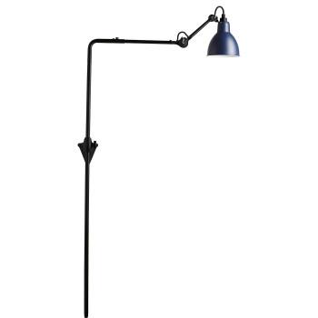 DCW Lampe Gras No 216, Schirm blau