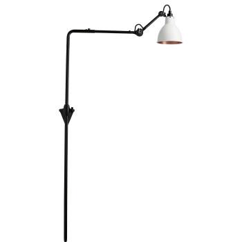 DCW Lampe Gras No 216, Schirm weiß (innen Kupfer)