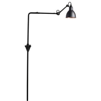 DCW Lampe Gras No 216, Schirm schwarz (innen Kupfer)