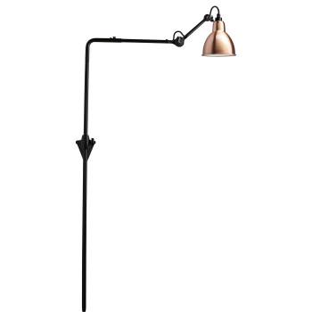 DCW Lampe Gras No 216, Schirm Kupfer (innen weiß)