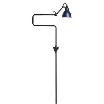 DCW Lampe Gras No 217, Schirm blau