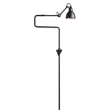 DCW Lampe Gras No 217, Schirm schwarz (innen Kupfer)