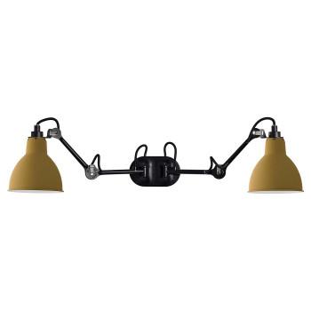 DCW Lampe Gras No 204 Double, Schirm gelb