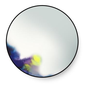 Petite Friture Francis Spiegel, Durchmesser 60 cm, blau-lila