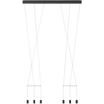 Vibia Wireflow Lineal 0338, schwarz
