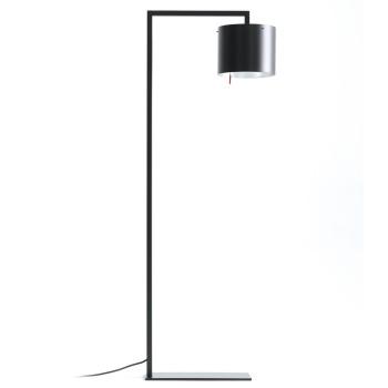 Anta Afra LED, schwarz, Schirm innen silber