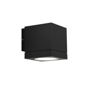 Wever & Ducré Tube Carré 1.0 LED Wandleuchte, schwarz