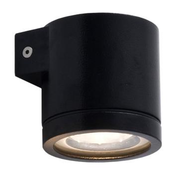 Wever & Ducré Tube 1.0 LED Wandleuchte, schwarz