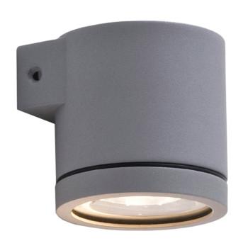 Wever & Ducré Tube 1.0 LED Wandleuchte, dunkelgrau