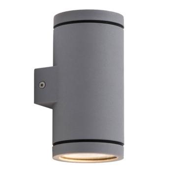 Wever & Ducré Tube 2.0 LED Wandleuchte, dunkelgrau