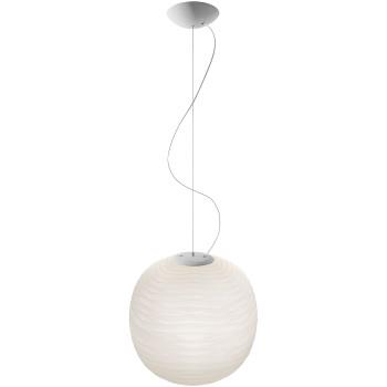 Foscarini Gem Sospensione LED, weiß