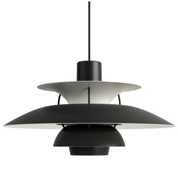 Louis Poulsen PH 5, Monochrome Black (schwarz)