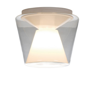Serien Lighting Annex Ceiling L, Schirm klar / Reflektor opal