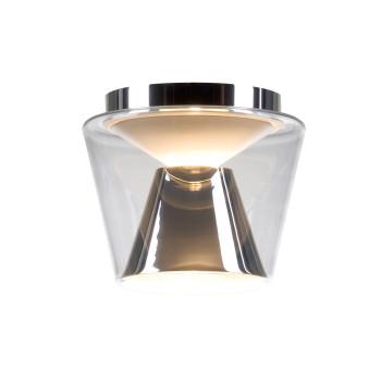 Serien Lighting Annex Ceiling L, Schirm klar / Reflektor Aluminium poliert